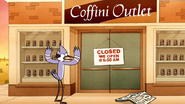 S7E36.146 Mordecai Mad Coffini Outlet is Closed