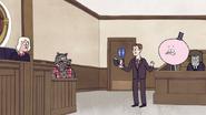 S7E09.127 The Prosecutor Reading Wolfhard's Diary