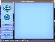 TS3 blank welcome screen
