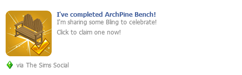 ArchPine Bench Wall Post