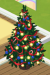 Red Decorated Tree 4