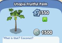 Utopia Fruitful Palm