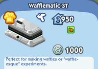 Wafflematic 3t