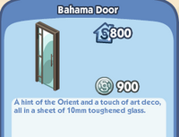 Bahama Door
