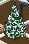Silver Decorated Tree 5