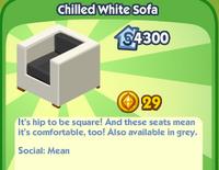 Chilled White Sofa