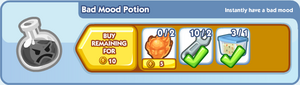 Bad Mood Potion Craft Bar