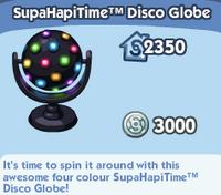 SupaHapiTime Disco Globe