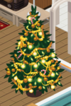 Gold Decorated Tree 5
