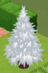 Frosty Decorated Tree 0
