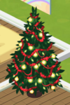 Red Decorated Tree 2