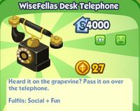 Wisefellas Desk Telephone