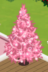 Pink Decorated Tree 4
