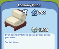 Economy Futon1