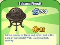 Bahama Firepit
