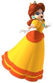 Daisy Artwork - Mario Party 8
