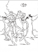 Swan Princess official coloring page 27