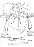 Swan Princess official coloring page 12