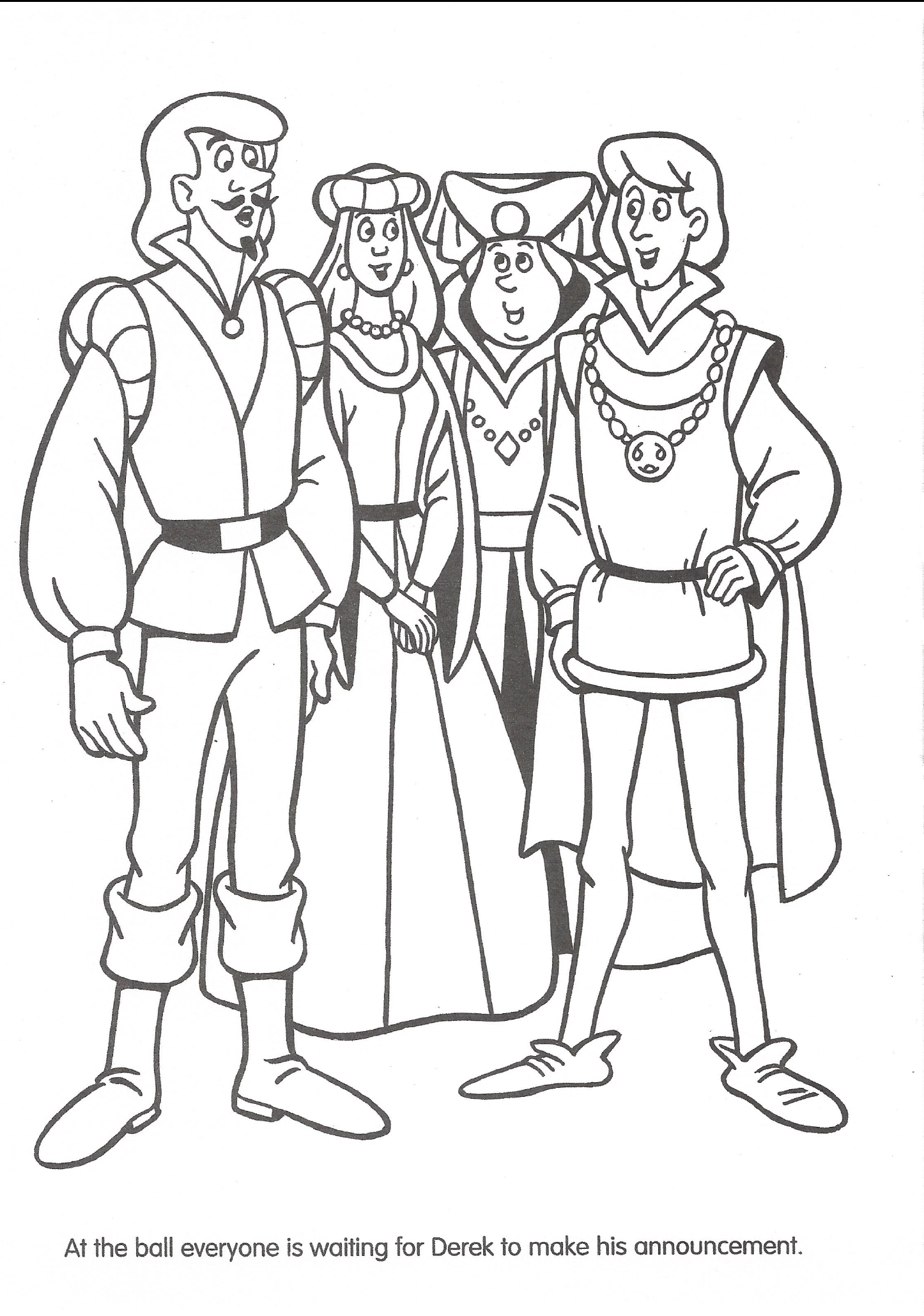 Swan Princess Official Coloring Page 41