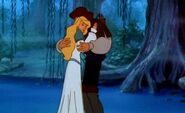 Derek and Odette hugging