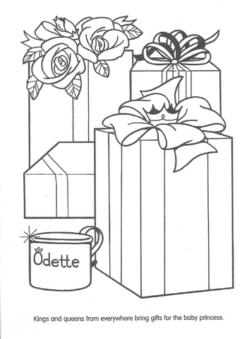 File:Swan Princess official coloring page 2.png