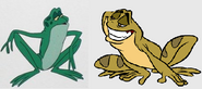 Jean-Bob VS frog Naveen