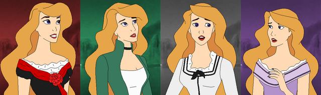 File:The Difrerents dress of Odette..png