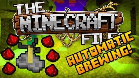 The Minecraft Files 379 - AUTOMATIC BREWING STATION! (HD)