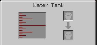 Water tank gui