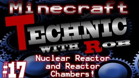 Minecraft Technic Part 17 Nuclear Reactor and Reactor Chambers!