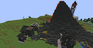 Tekkit volcano