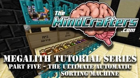 Tekkit Classic - Megalith Tutorial Series - Part Five - The Ultimate Redpower2 Sorting Machine
