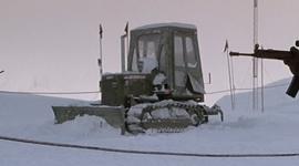 Caterpillar bulldozer - The Thing (1982)