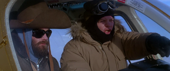 MacReady piloting Bell 206 - The Thing (1982)