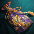 Embroidered Incense Pouch - RTKXIII