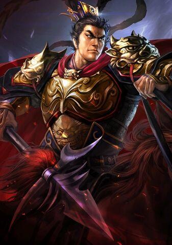 File:Lü Bu (battle high rank Red Hare young) - RTKXIII.jpg