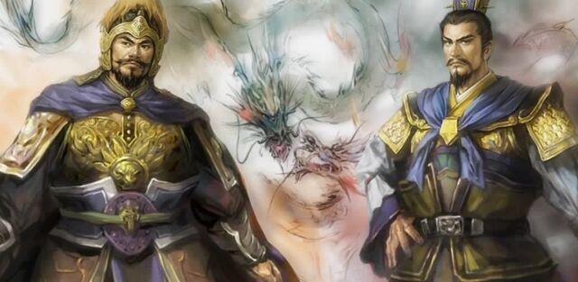 File:Yuan Shao and Cao Cao (cutscene) - RTKXI.jpg