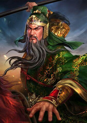 File:Guan Yu (battle high rank Red Hare old) - RTKXIII.jpg