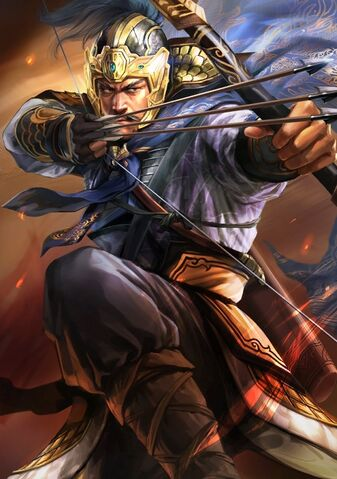 File:Xiahou Yuan (battle high rank old) - RTKXIII.jpg