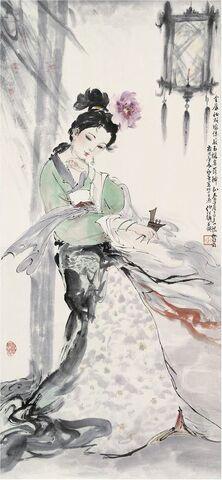 File:Yang Guifei (4 Beauties).jpg