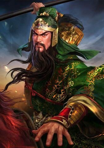 File:Guan Yu (battle high rank Red Hare young) - RTKXIII.jpg