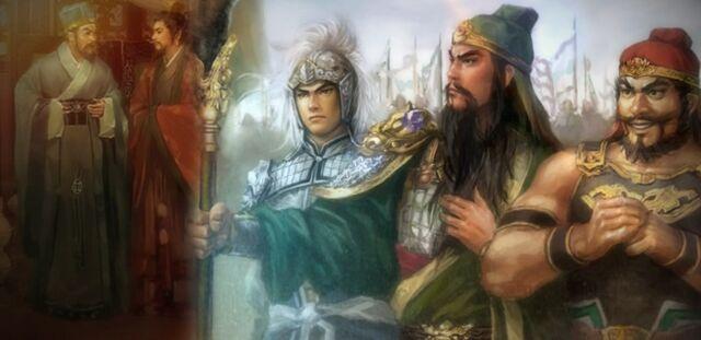 File:Liu Biao and Liu Bei (cutscene) - RTKXI.jpg