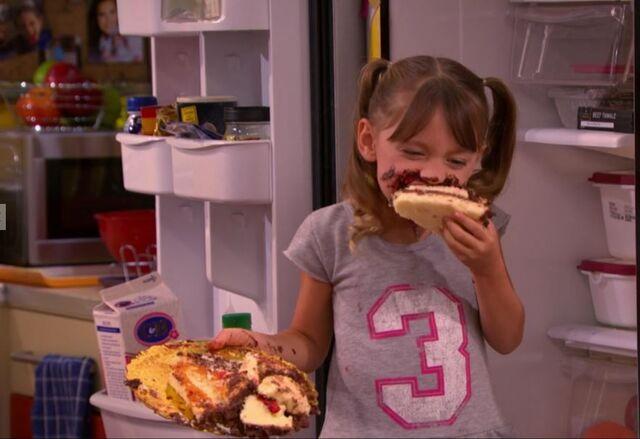 File:Chloe thunderman eating birthday cake.JPG