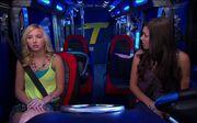 Cherry and Phoebe in Thunder Van