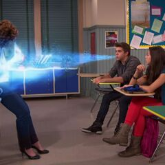Max freezes a teacher