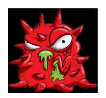 Flu Virus Artwork