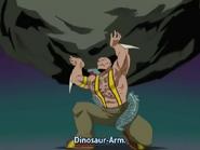 Dinosaur Arm