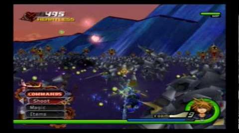 Sora's fighting skills