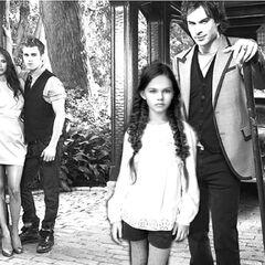 Stefan and Elena - Damon and Elizabeth
