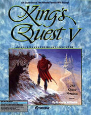 220px-King's Quest V - Absence Makes the Heart Go Yonder! Coverart